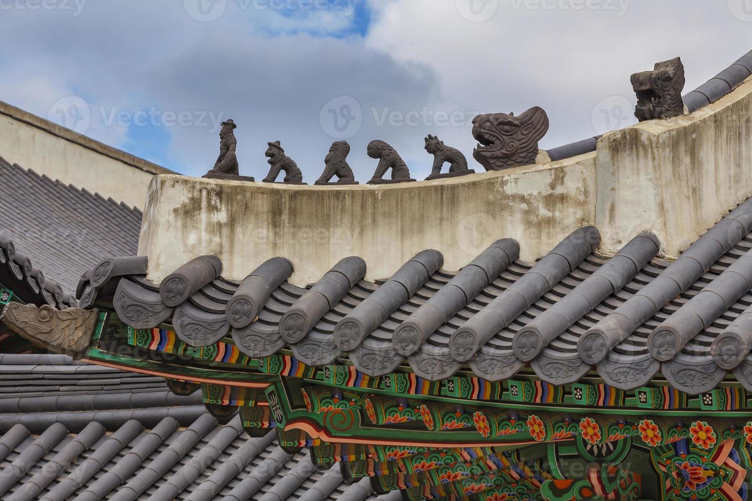 palais de changdeokgung, tradition coréenne photo
