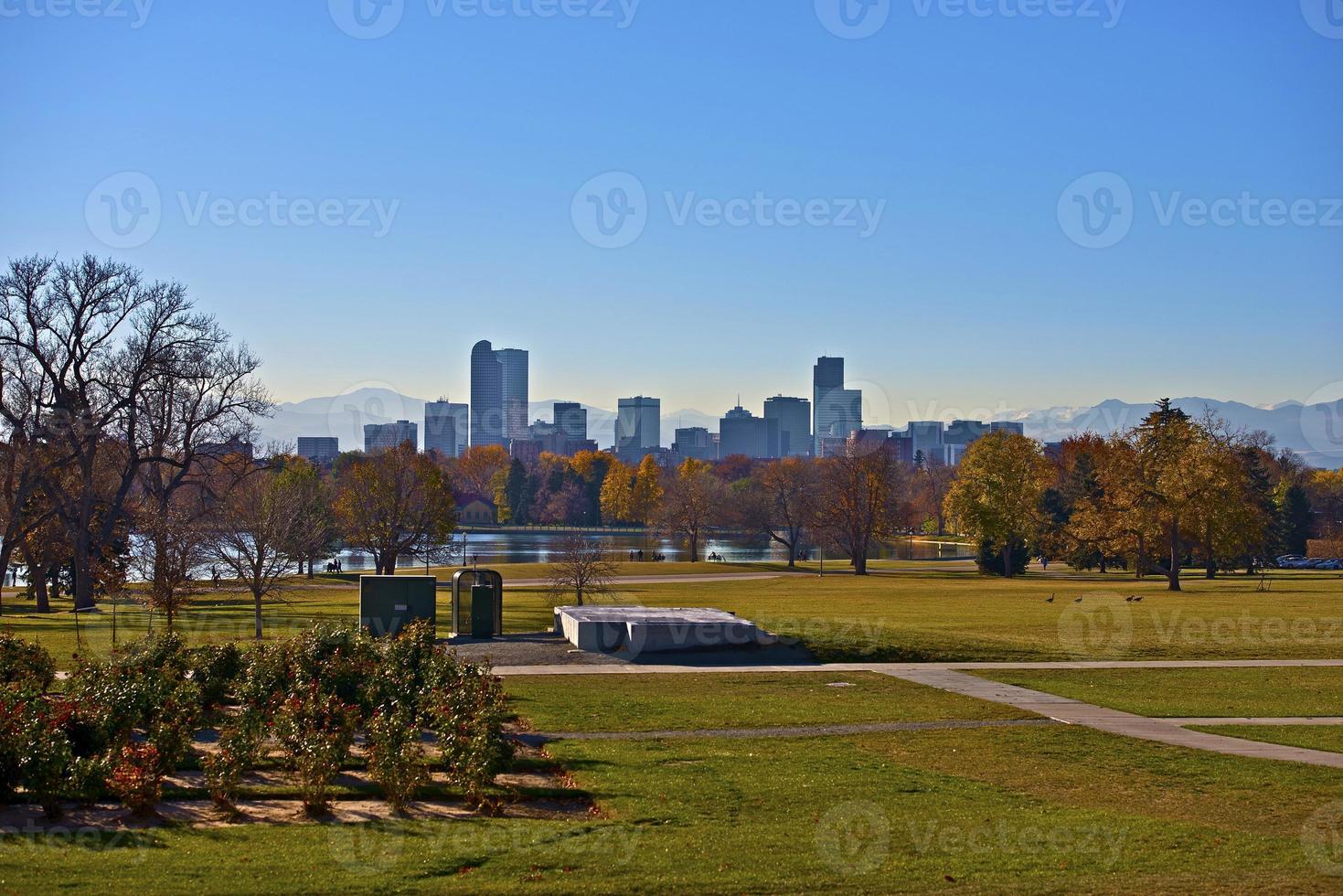 parc de la ville de denver photo