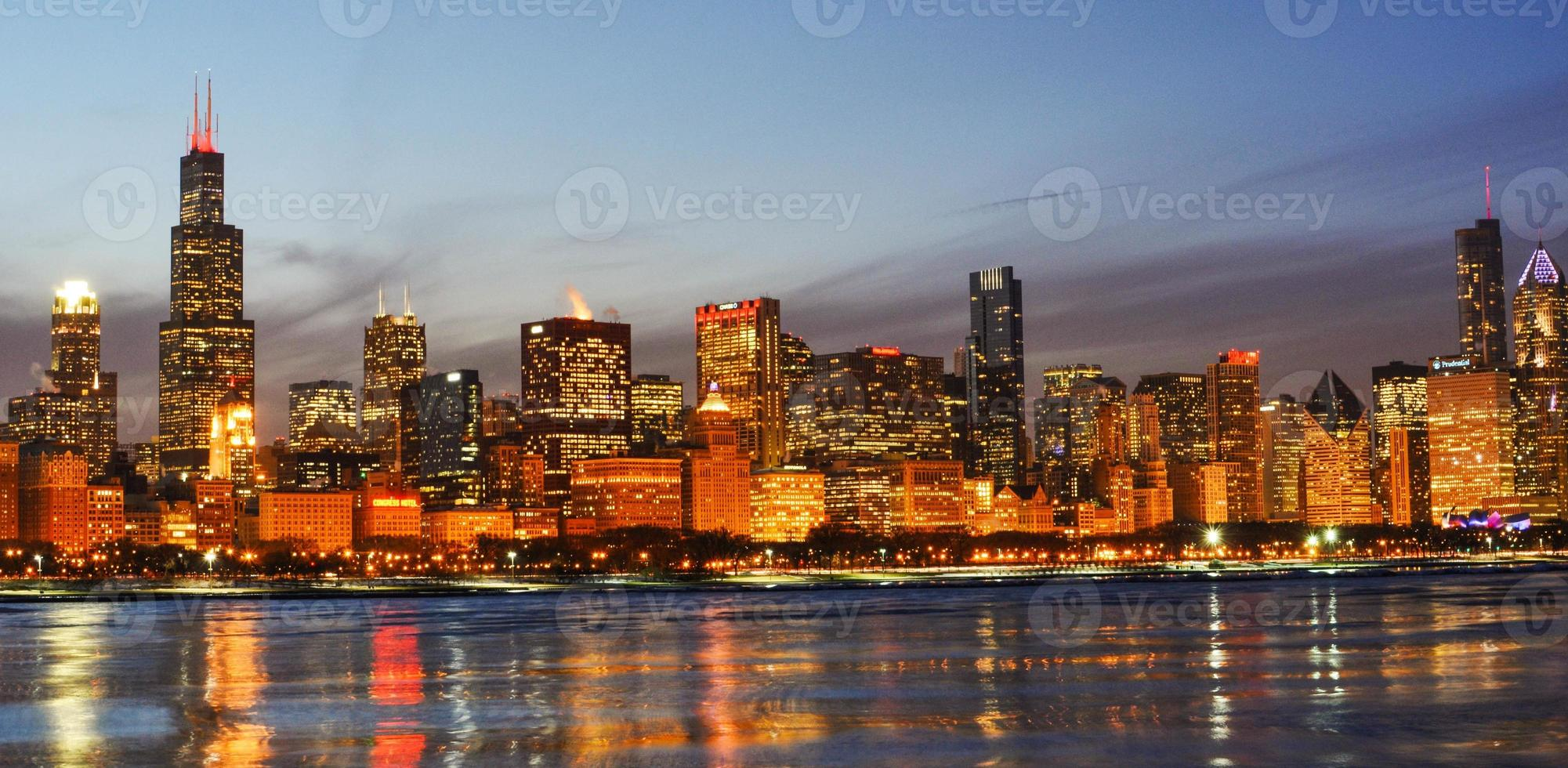 Chicago skline photo