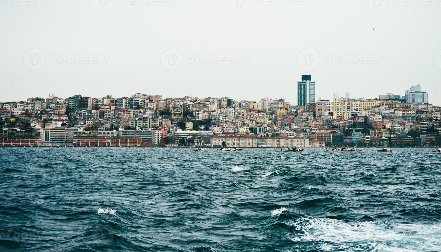 vue d'istanbul, босфорский пролив photo