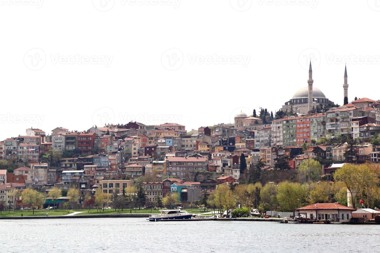 Skyline d'Istanbul photo
