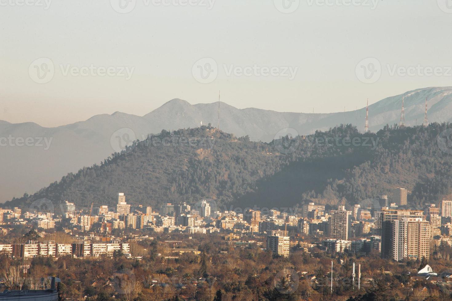 San Cristobal Hill, Santiago Chili photo