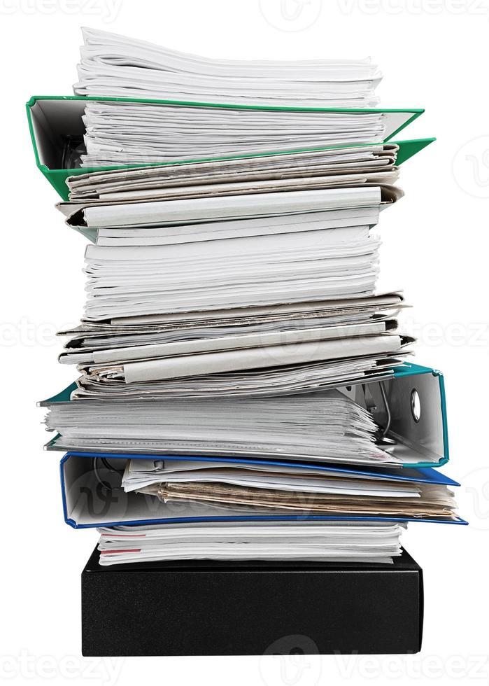 dossier, document, manuscrit photo
