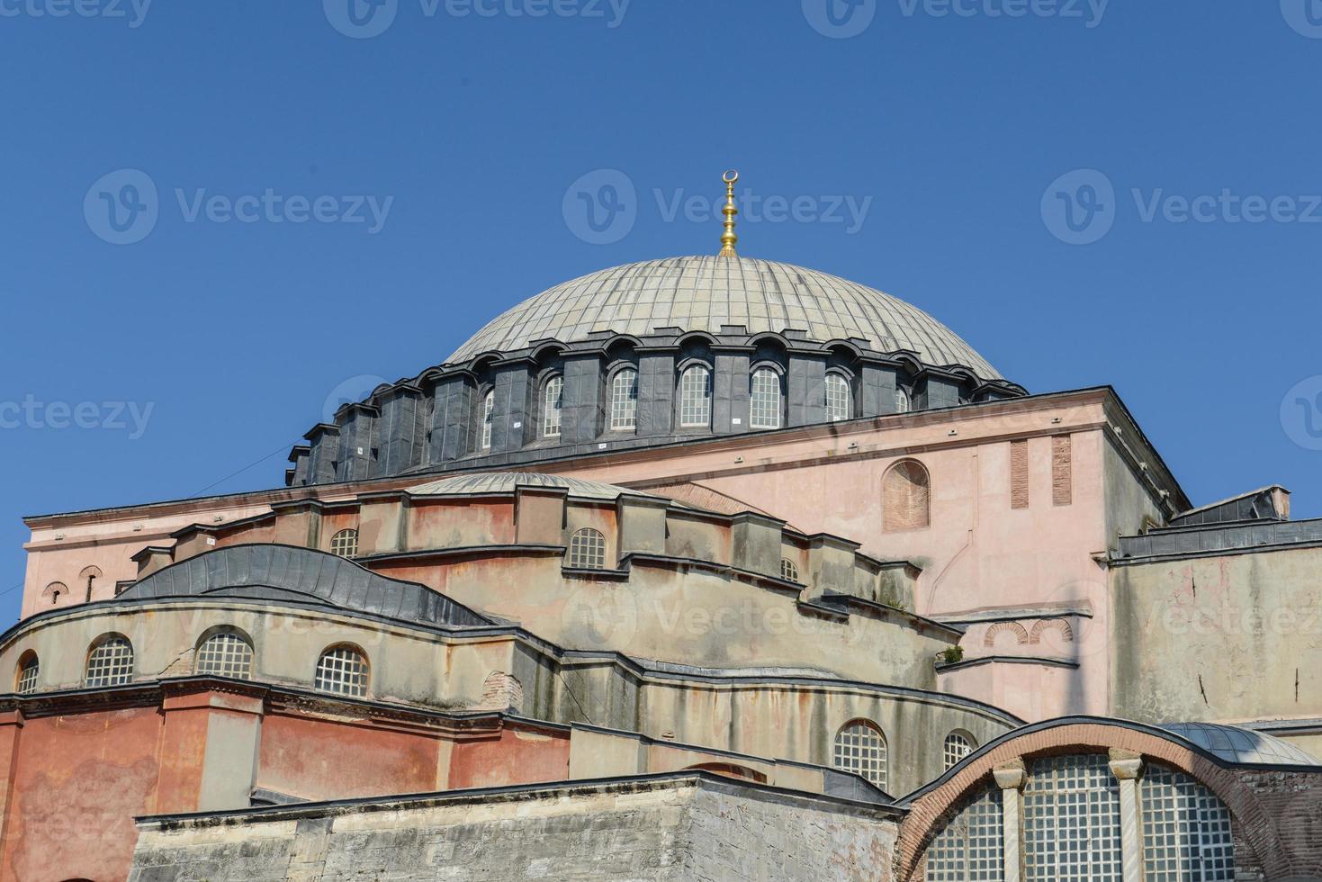 hagia sophia à istanbul turquie photo