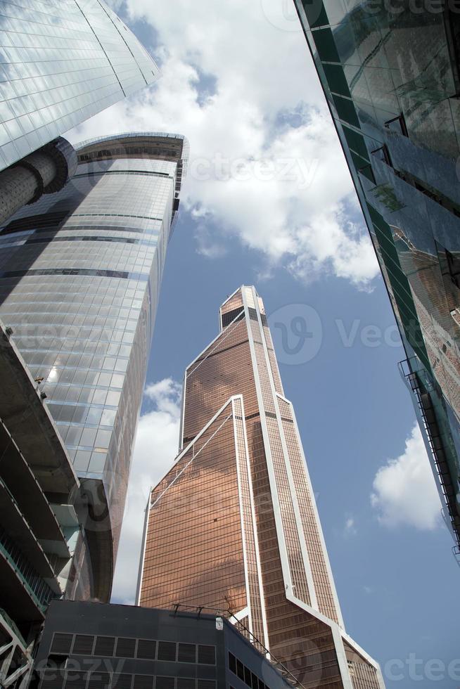 gratte-ciel du centre d'affaires international (ville), moscou, russie photo