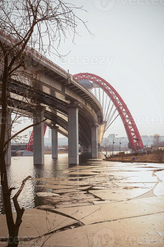 pont à moscou photo