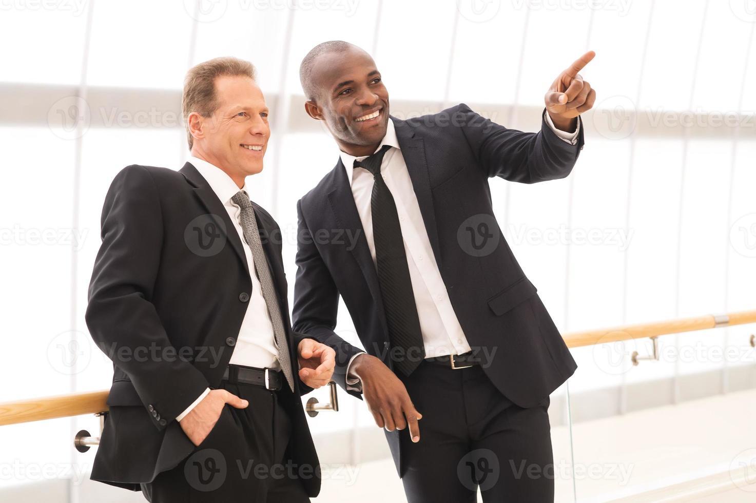 hommes d'affaires. photo