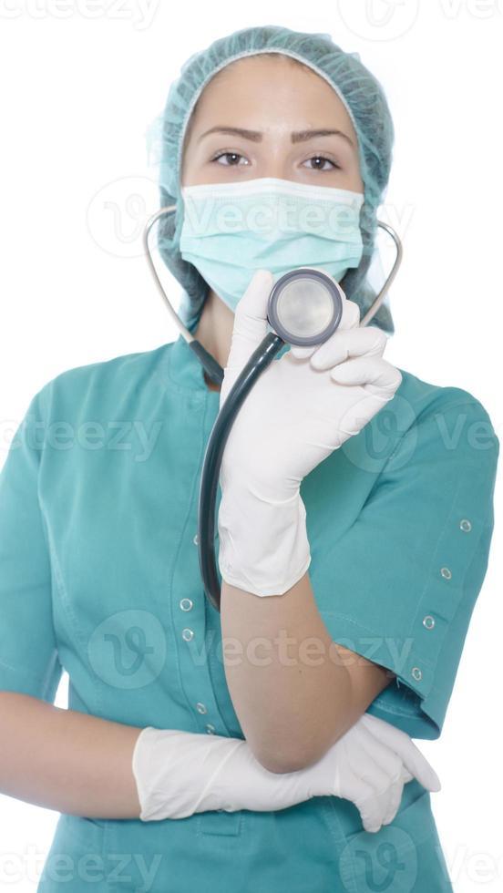 femme médecin ou infirmière photo
