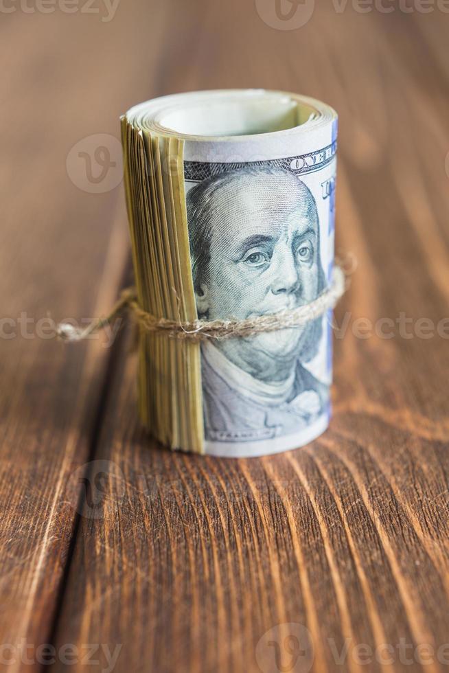 argent sur le bureau photo