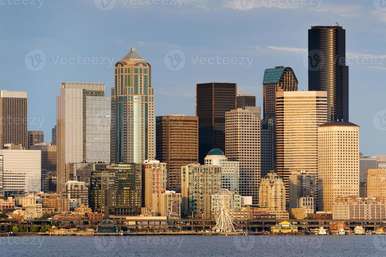 front de mer de Seattle photo