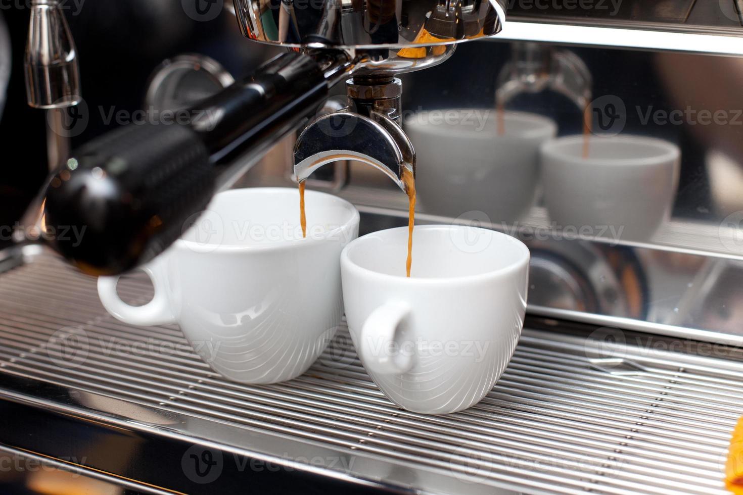 machine à café en cours photo