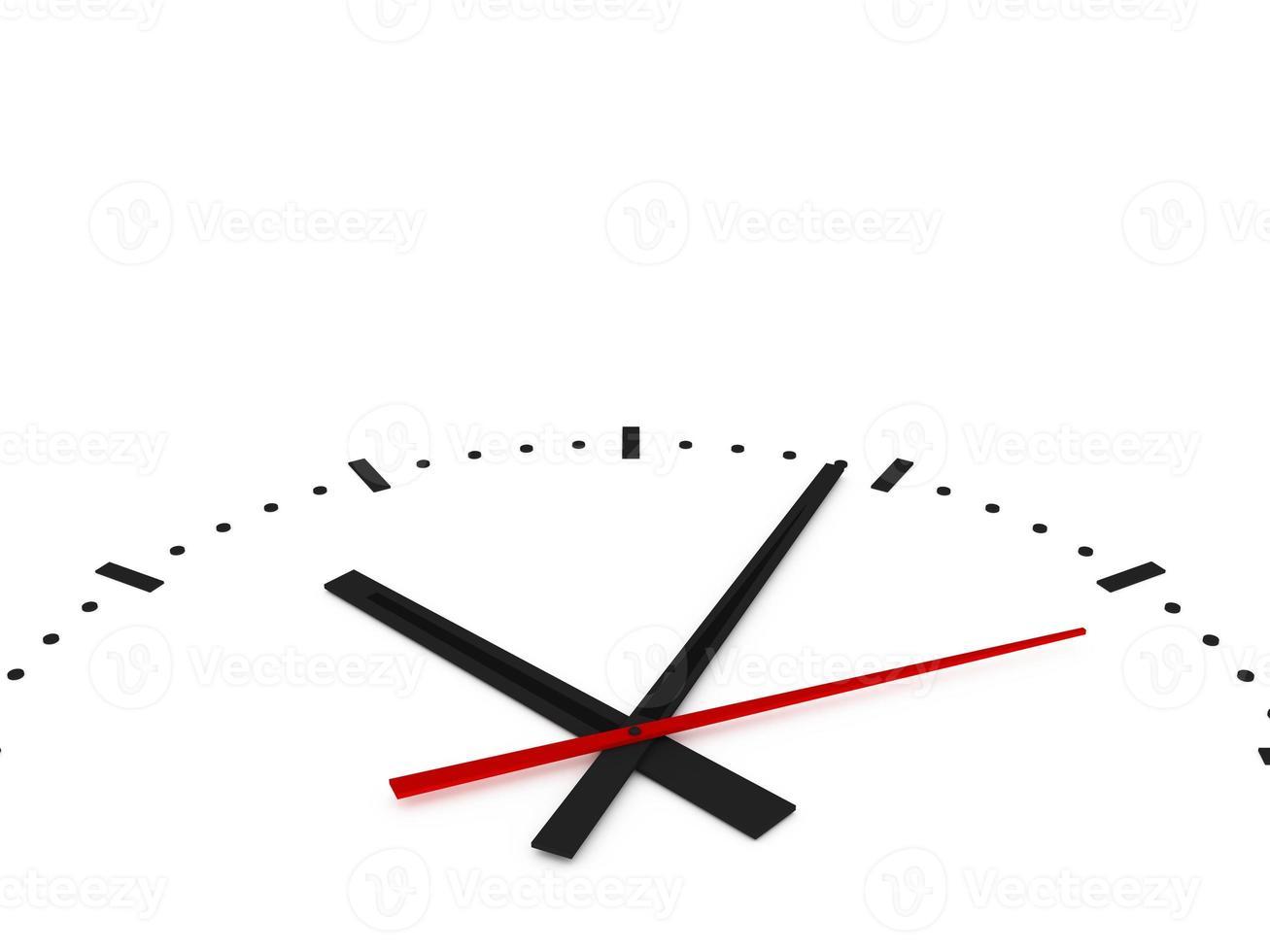 bouchent horloge photo