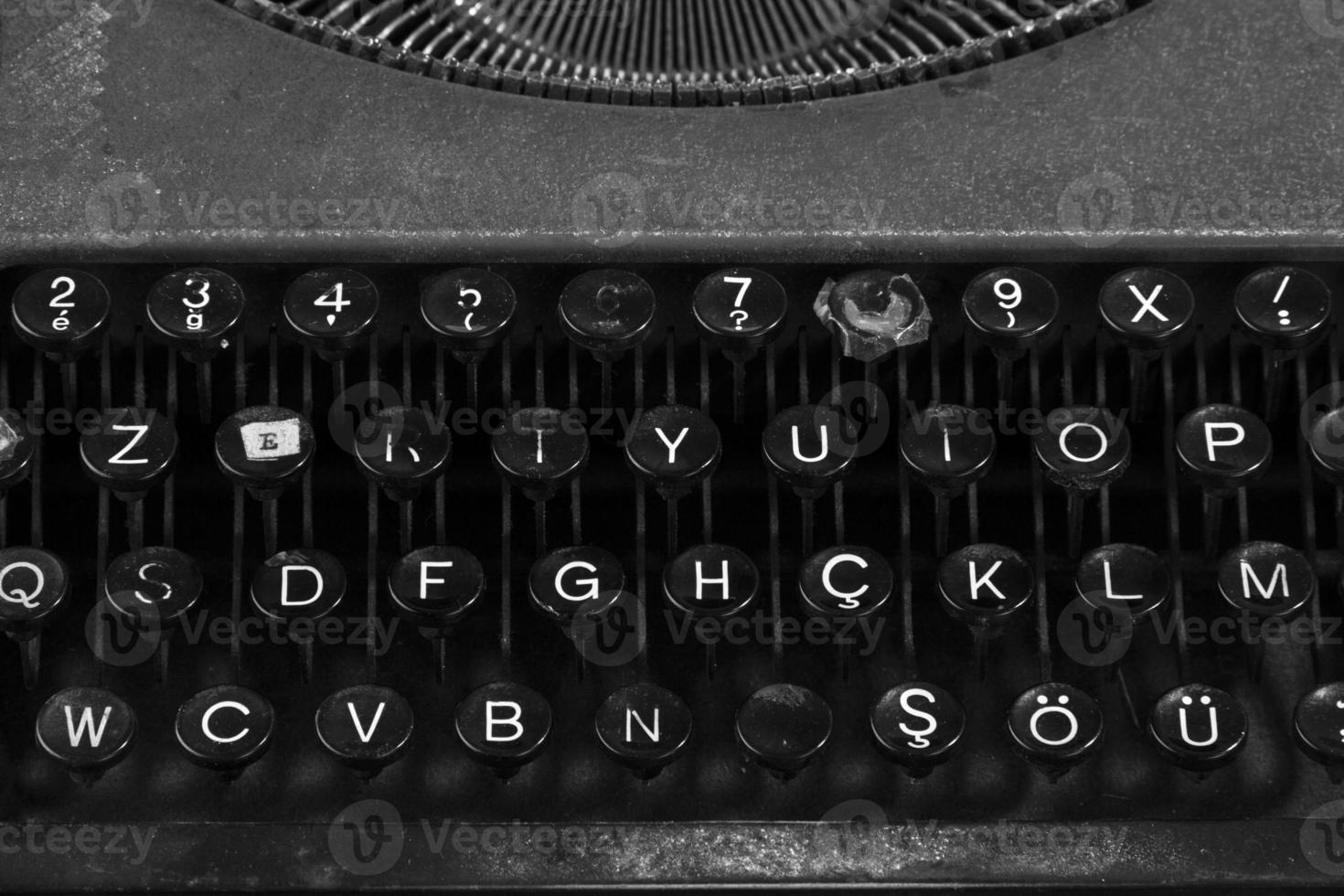 machine à écrire bouchent photo