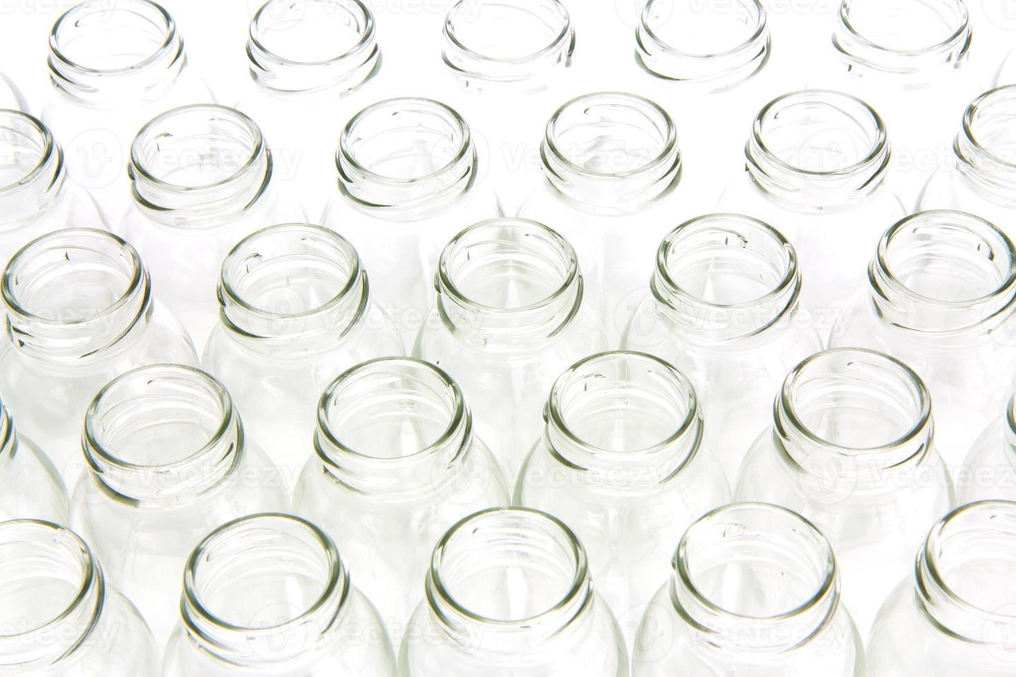 bouchent les bouteilles en verre photo