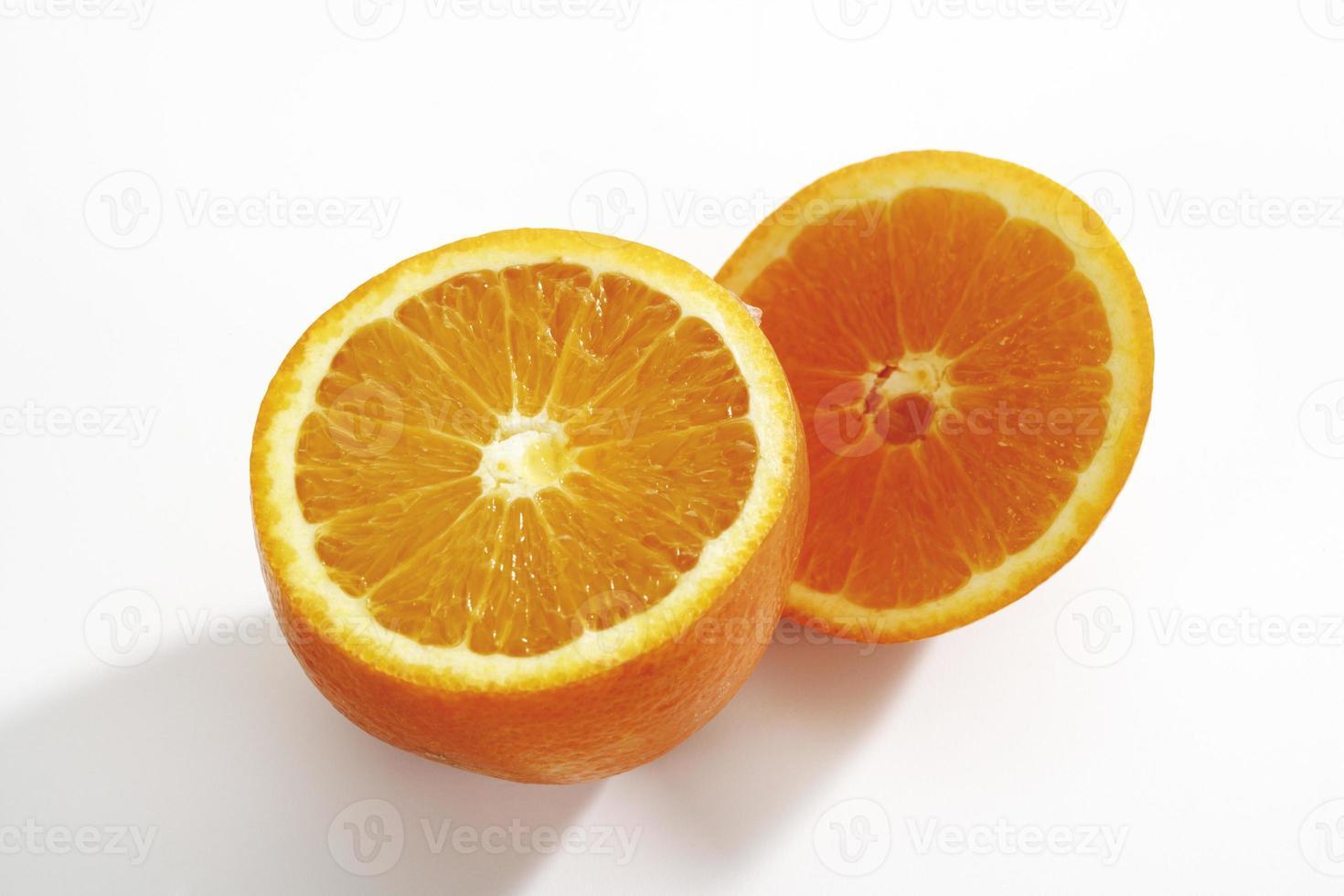 tranches d'orange, gros plan photo