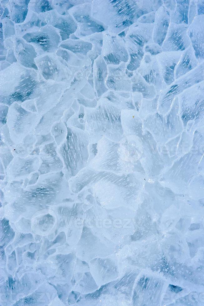 la glace. fermer. photo