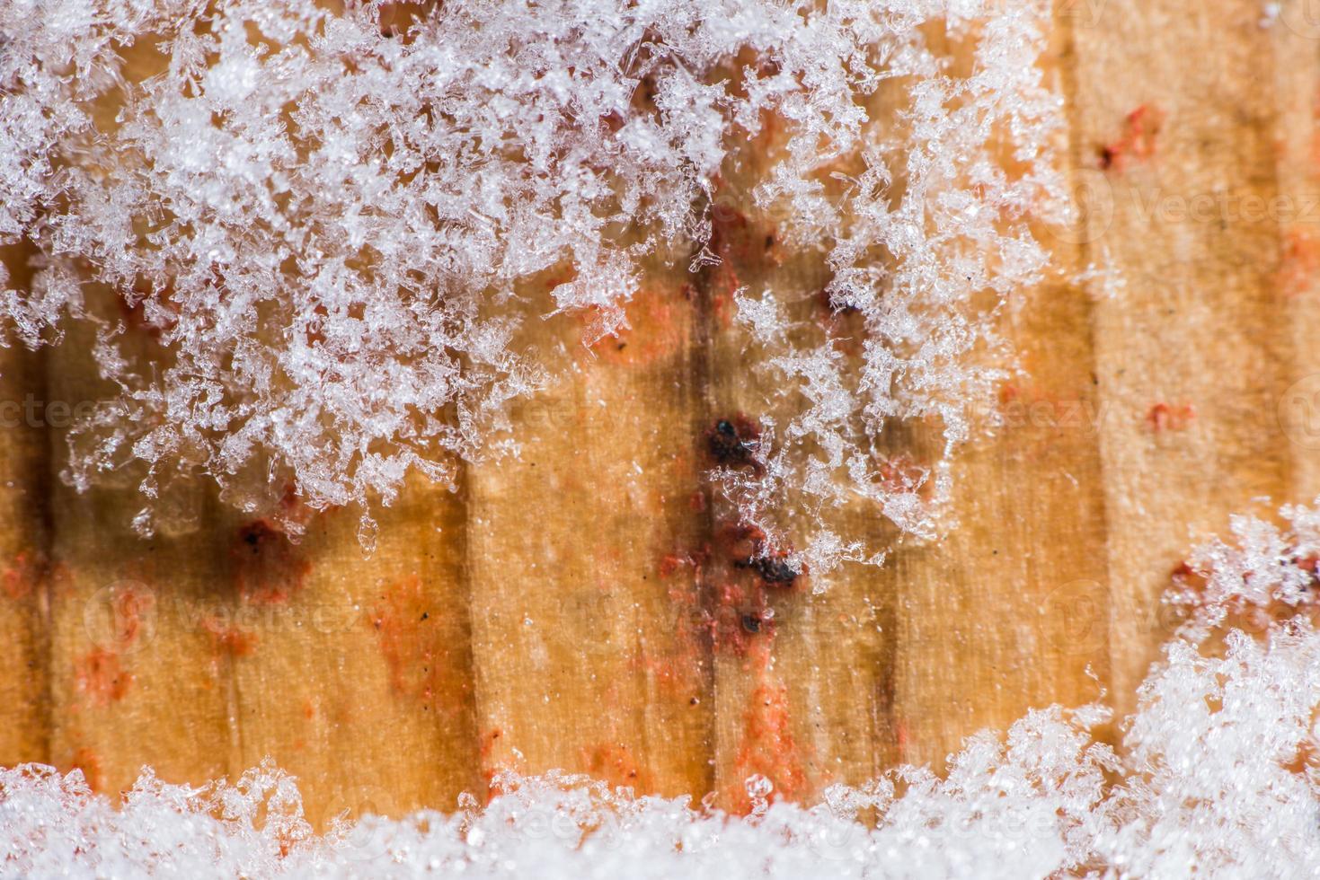 bouchent la neige photo
