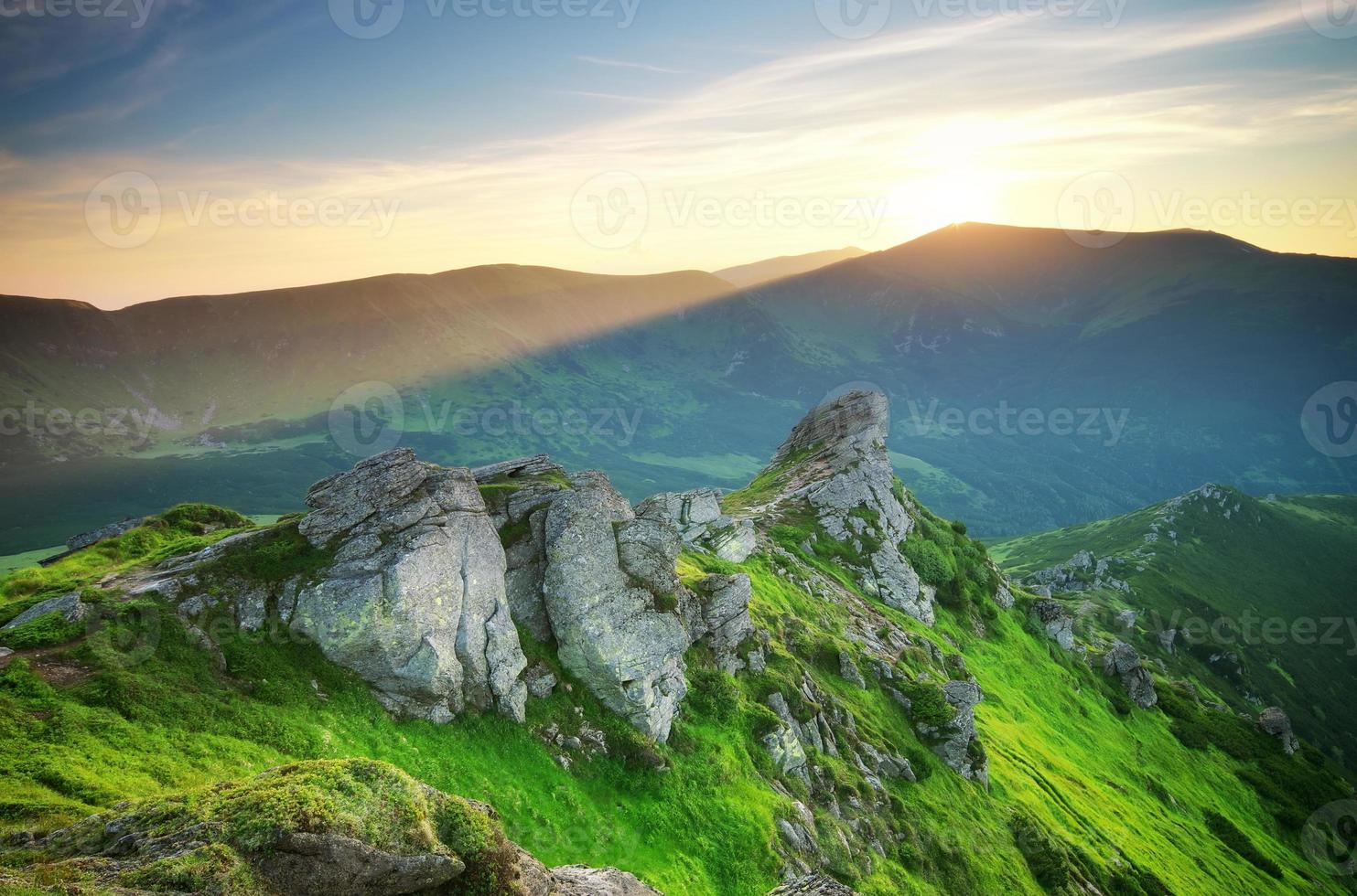 paysage de montagne photo