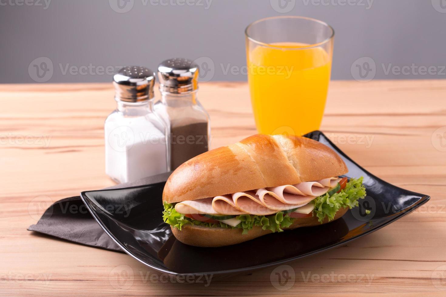 sandwich à la dinde photo