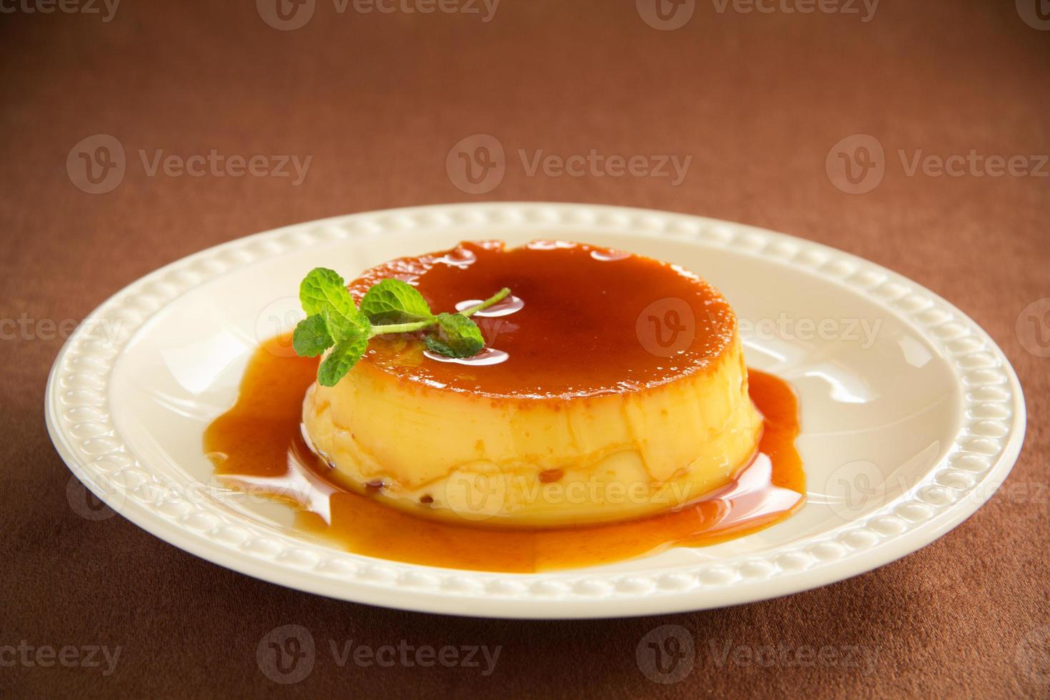crème caramel photo