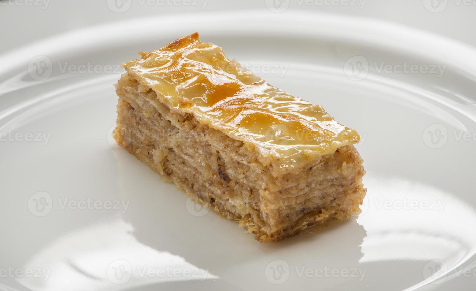 baklava miel et noix photo