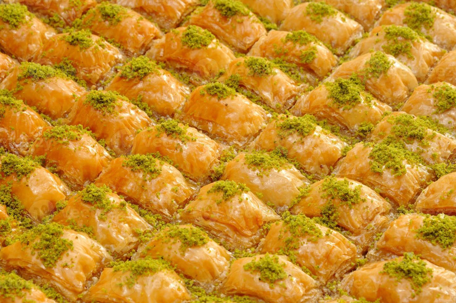 baklava dessert traditionnel photo