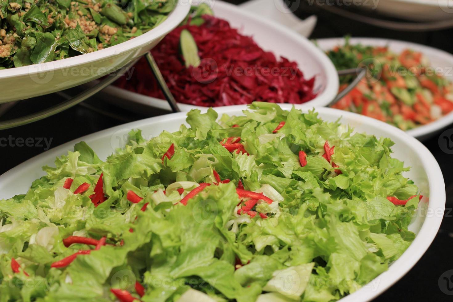 Salade de laitue photo