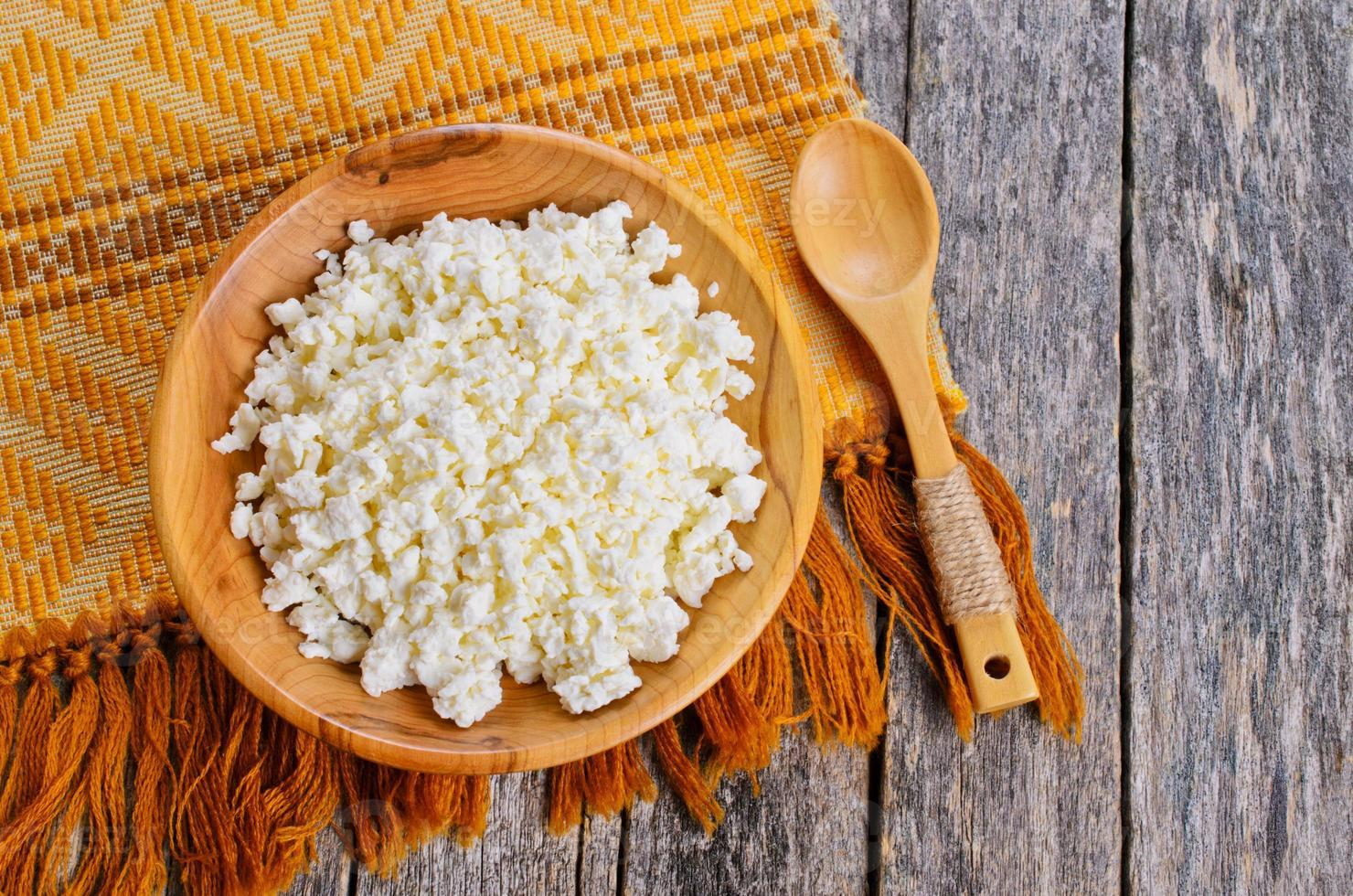 Cottage cheese photo