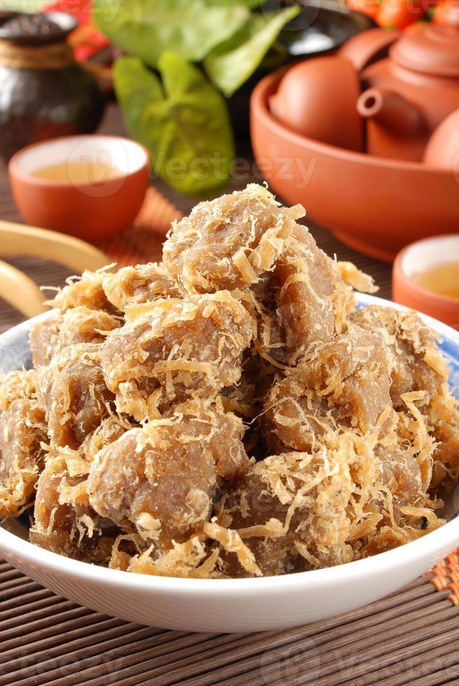 tofu de soja séché photo