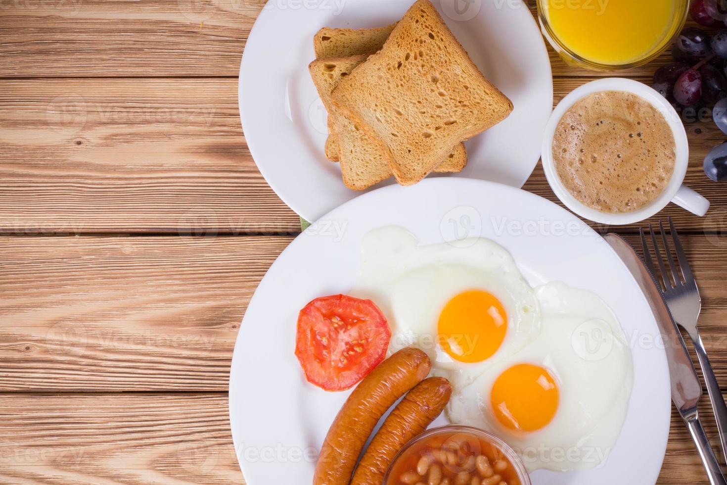 petit-déjeuner anglais complet photo