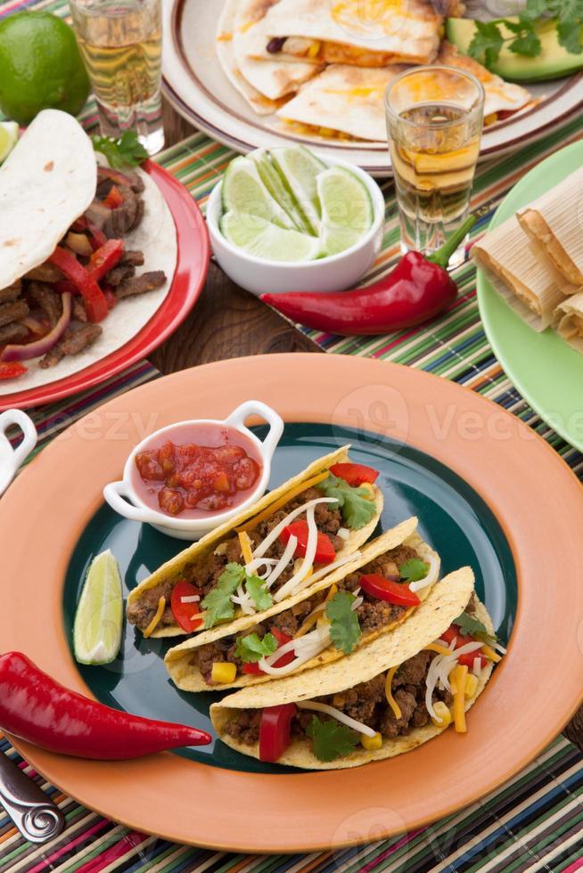 Tacos au bœuf photo