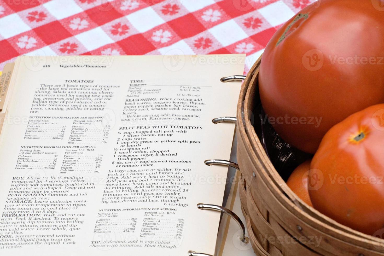 recettes de tomates photo