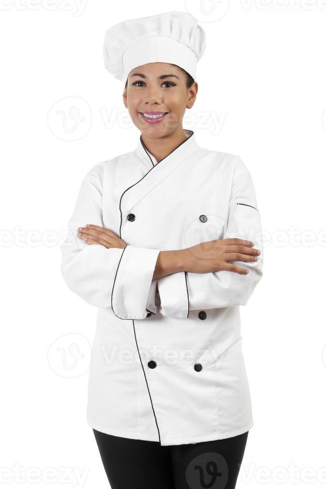 chef féminin photo