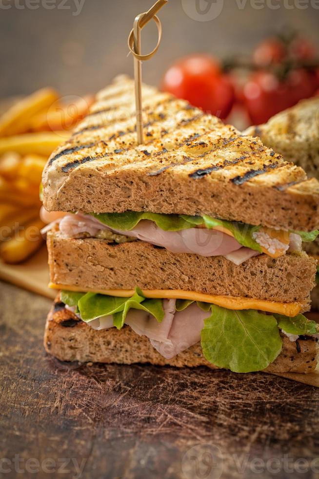 sandwich club classique photo