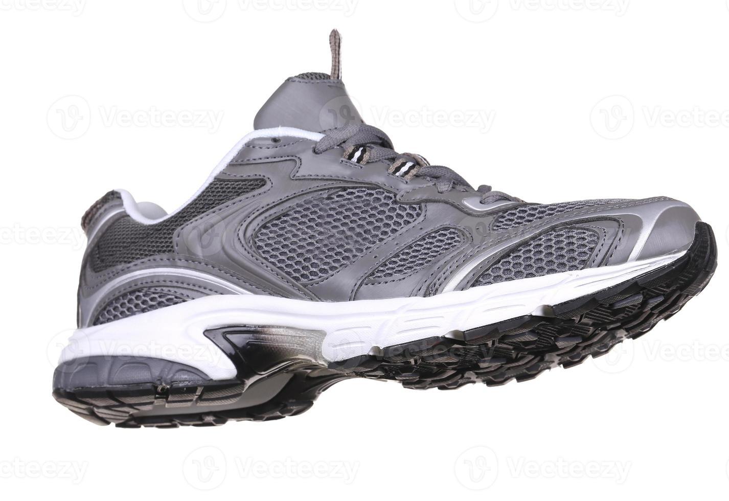 vue latérale de la chaussure de sport. photo