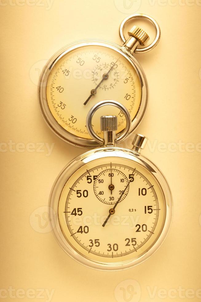 deux chronomètres photo