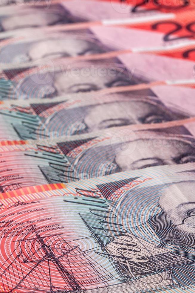 Billets de vingt dollars australiens (20 $) photo