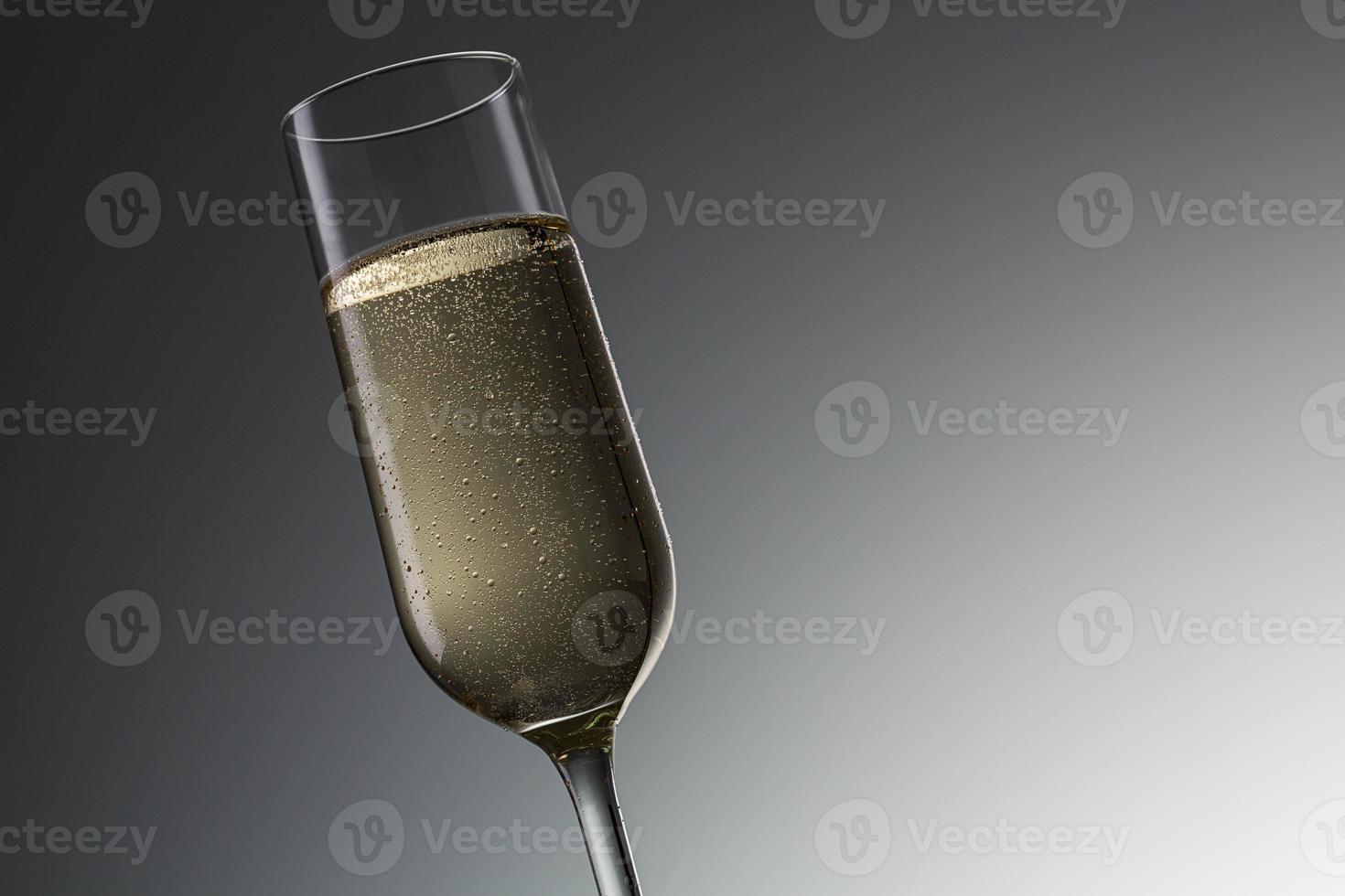 verre de champagne photo