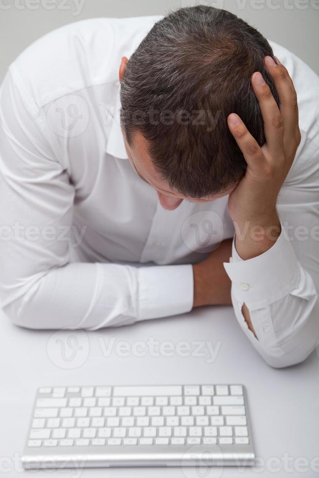 homme d'affaires frustré photo