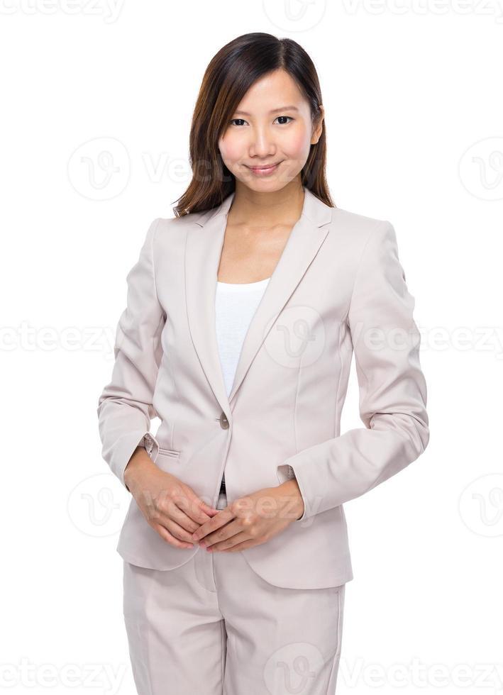 femme d'affaires asiatique photo
