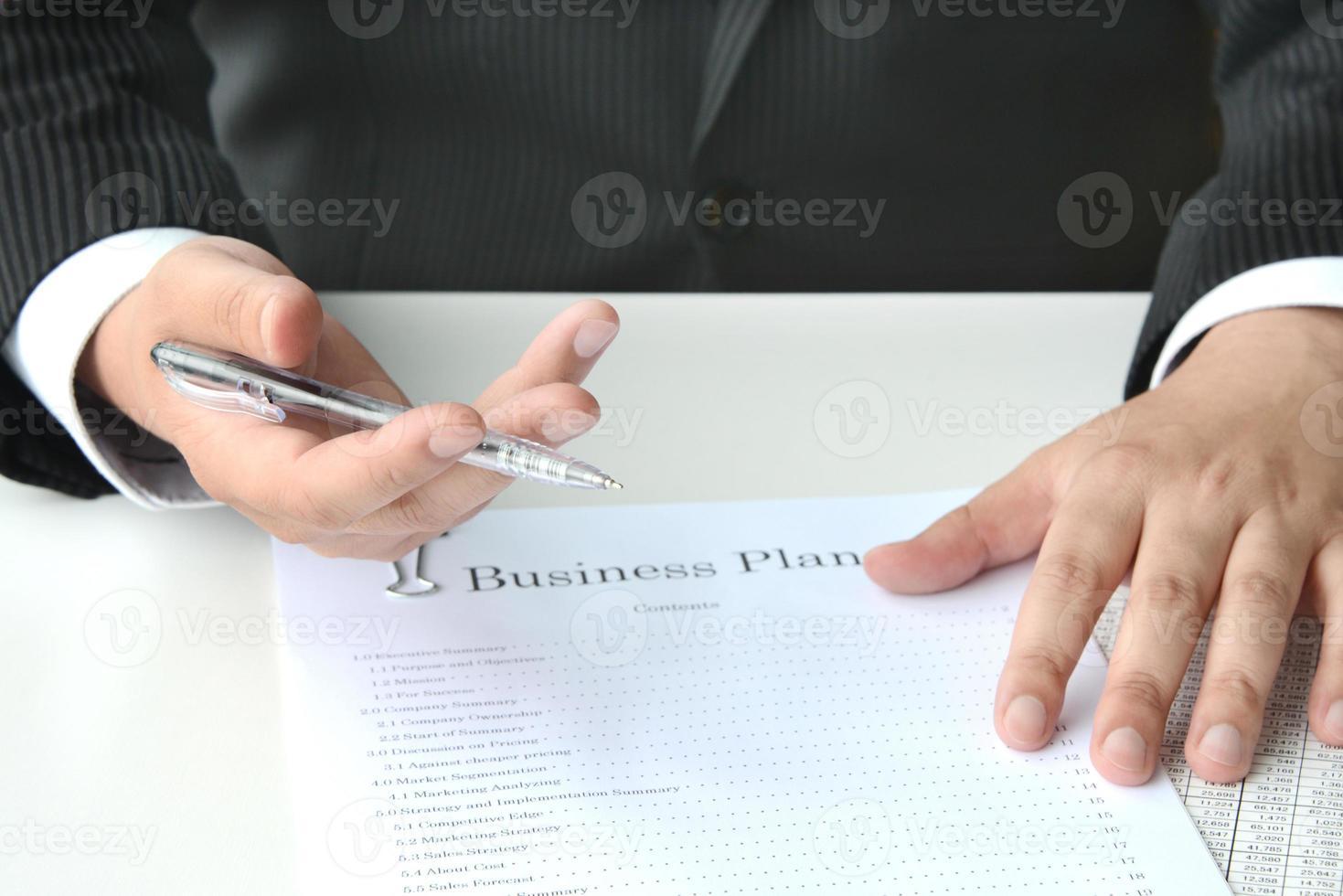 concepts d'affaires, réunion photo