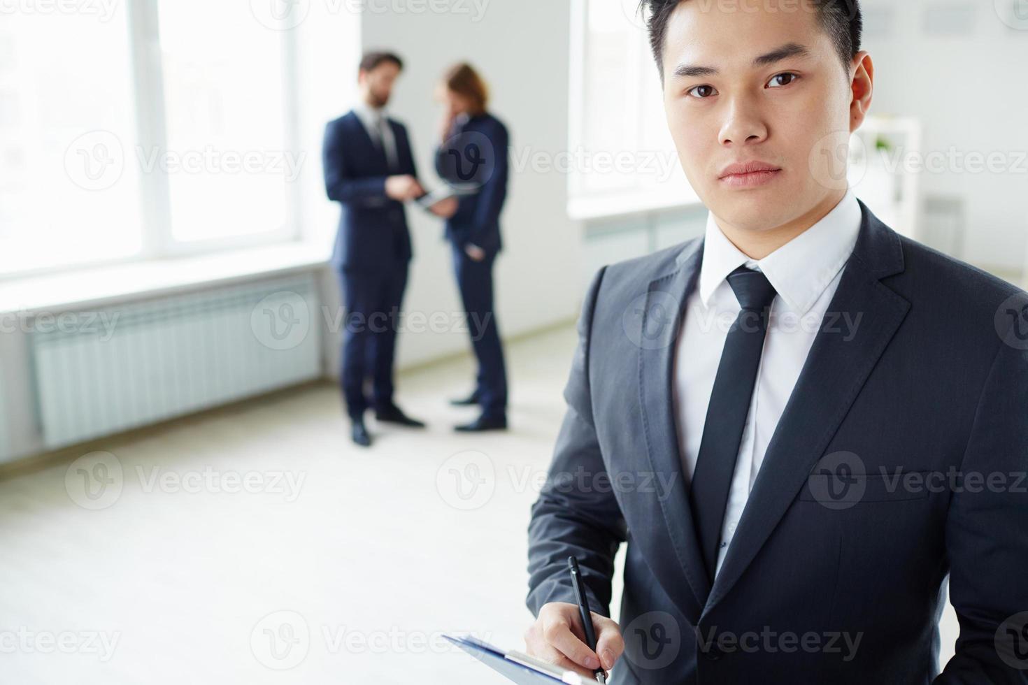 homme d'affaires intelligent photo