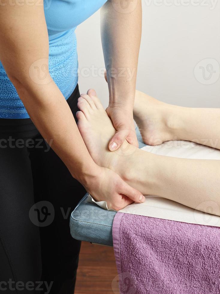 traitement d'ostéopathie photo