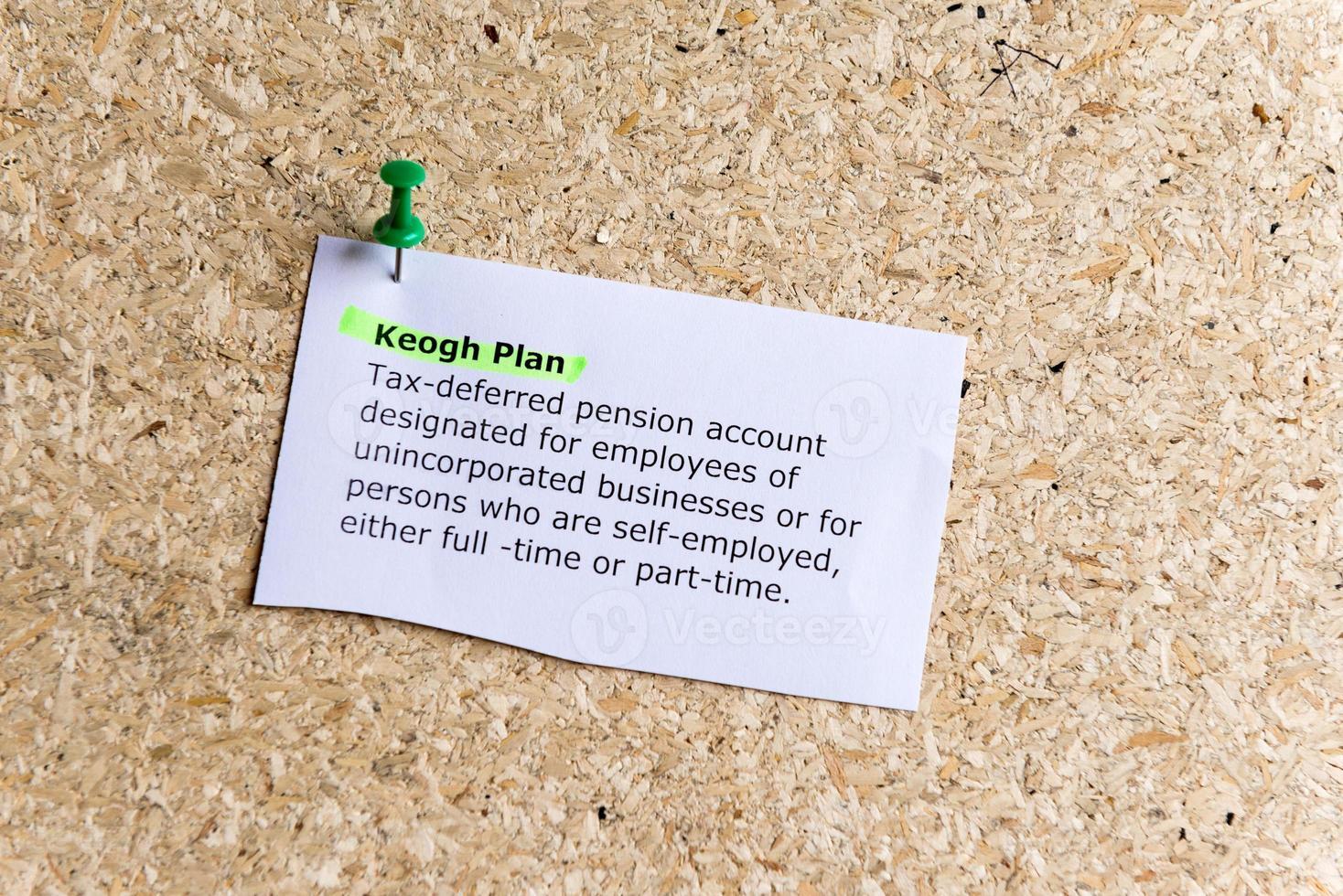 plan de Keogh photo