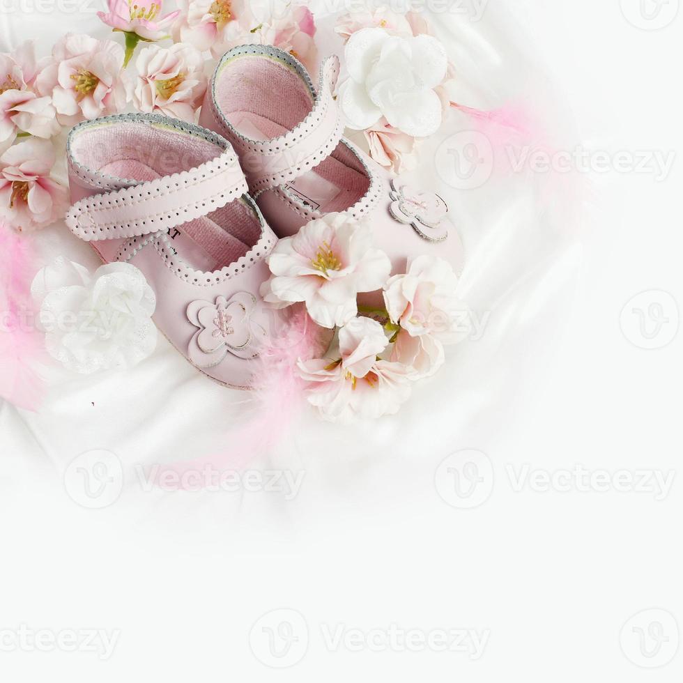 décoration de douche de bébé photo