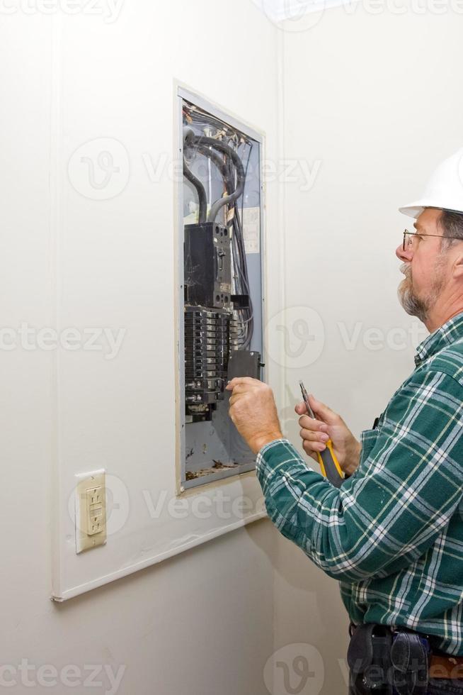 inspecteur électricien photo