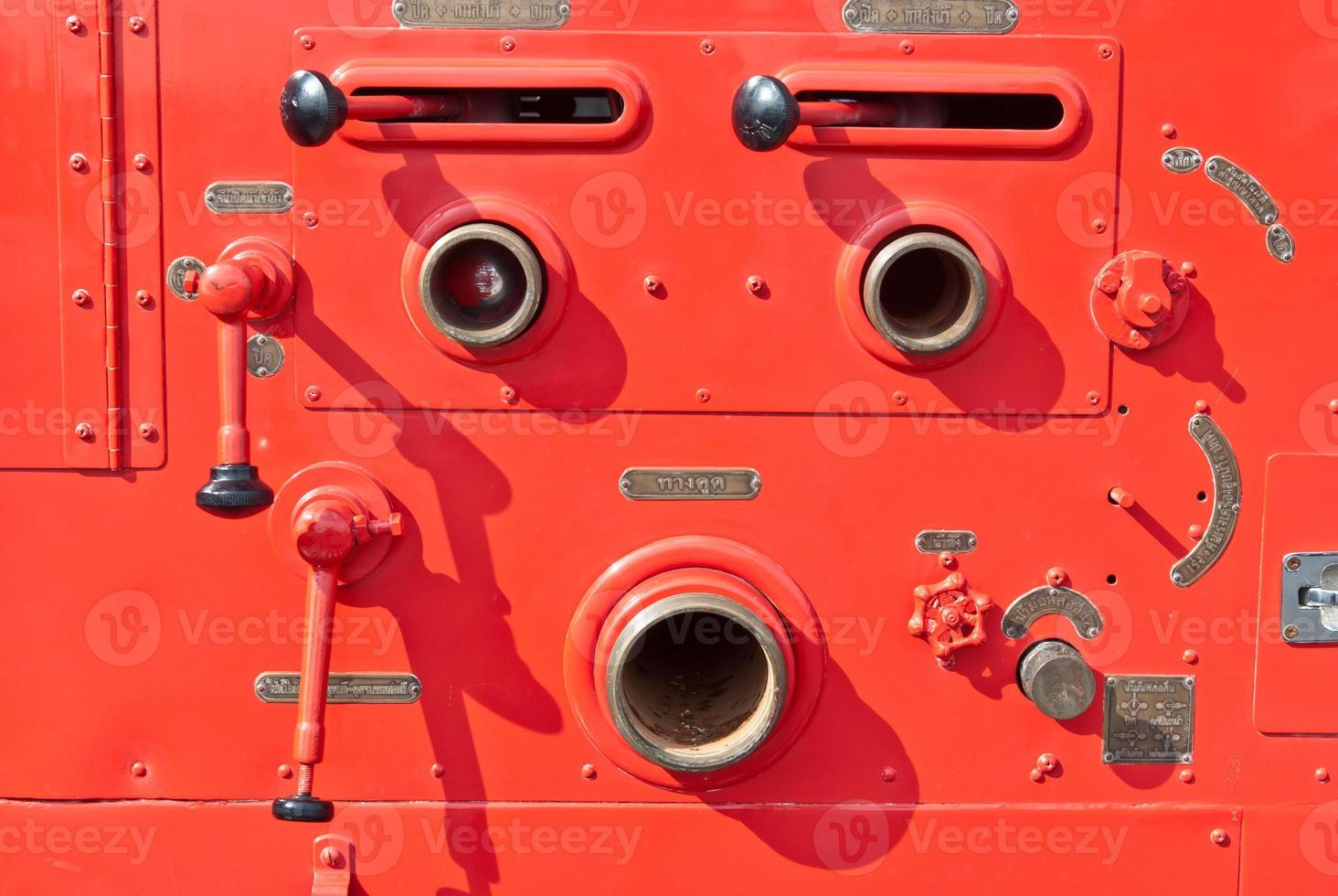 vieux vintage pompier détail photo