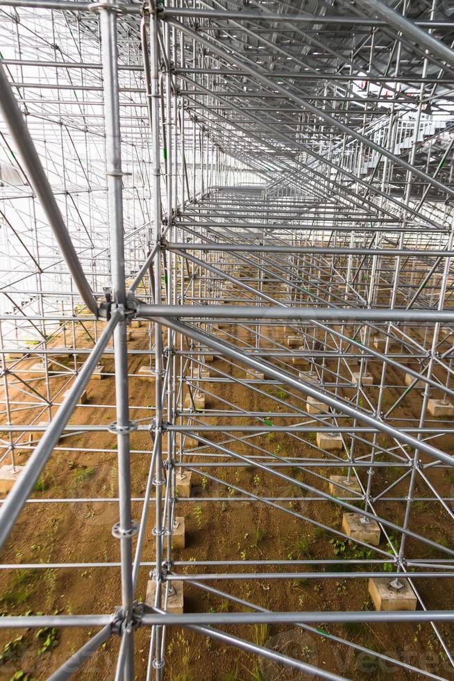 construction en aluminium photo