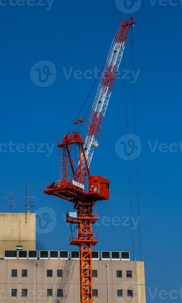 grue de construction. photo