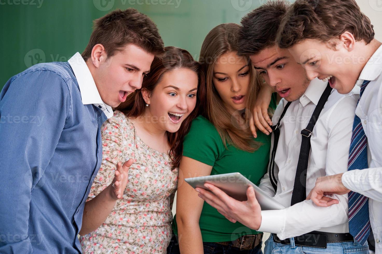 étudiants surpris photo